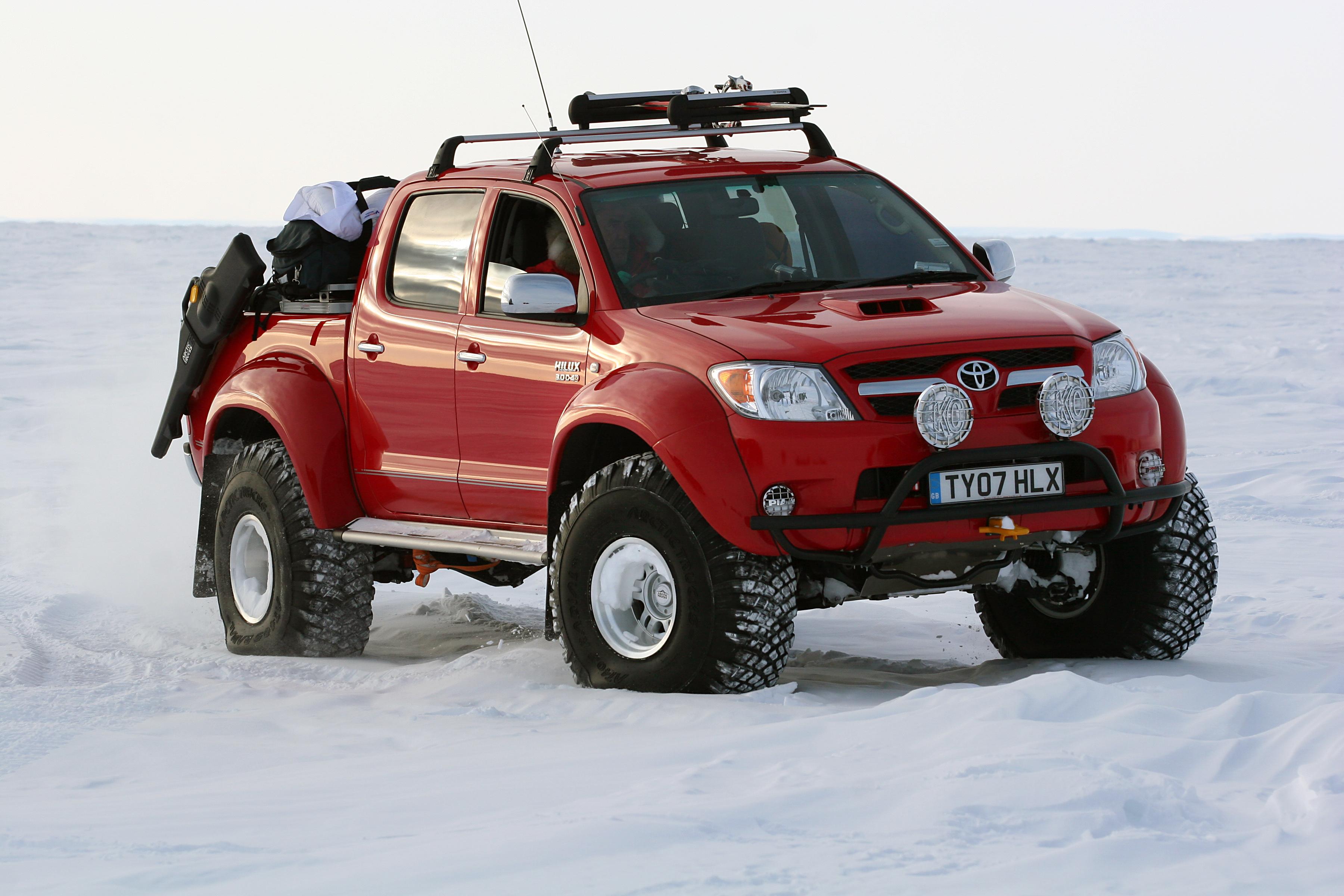 Antarctica Crossing Arctic Trucks Antarctica