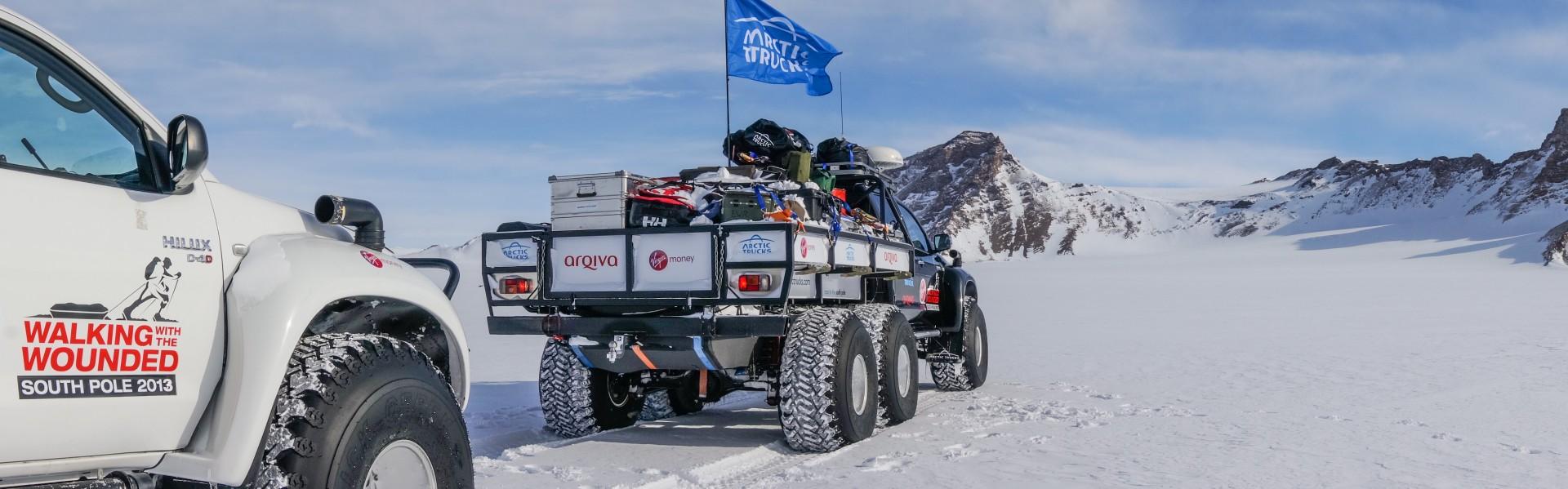 Arctic Trucks Antarctica